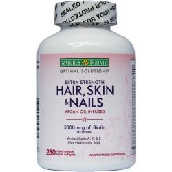 حبوب الشعر والجلد والاظافر الامريكية HAIR SKIN AND NAILS 250