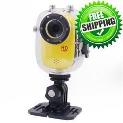 كاميرا HD الرياضية 30M ضد الماء وفي الهواء الطلق وركوب الدراجات والغوص