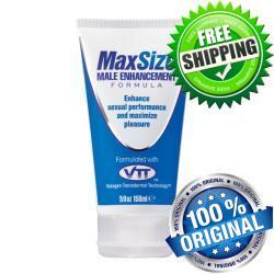كريم ماكس سايز لتكبير حجم العضو الذكرى وضعف الانتصاب Max Size ® Cream is a